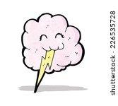 cartoon thundercloud   Shutterstock .eps vector #226535728