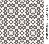 seamless pattern with floral... | Shutterstock .eps vector #226541578