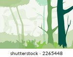abstract forest   vector... | Shutterstock .eps vector #2265448