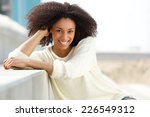 close up portrait of a smiling... | Shutterstock . vector #226549312