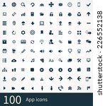 app icons vector set. | Shutterstock .eps vector #226552138