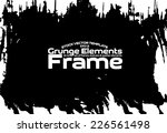 design template. abstract... | Shutterstock .eps vector #226561498