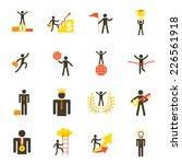 icons set   business man ...   Shutterstock .eps vector #226561918