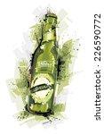 beer bottle | Shutterstock .eps vector #226590772