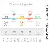 business timeline infographics... | Shutterstock .eps vector #226601812