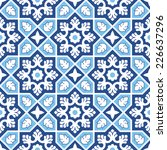 sindhi traditional pattern... | Shutterstock .eps vector #226637296