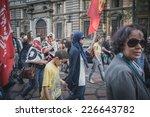milan  italy   october 18 ... | Shutterstock . vector #226643782