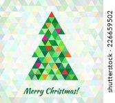 Christmas Tree Greeting Card...