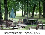 Wooden Chairs And Table Of Par...