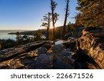 Stock photo lake tahoe sunrise photos taken in lake tahoe area 226671526