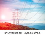 Electricity Pylon   Uk Standar...
