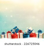 holiday christmas background... | Shutterstock .eps vector #226725046