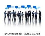 business people in meeting | Shutterstock . vector #226766785