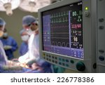 heart monitor in hospital... | Shutterstock . vector #226778386