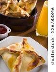 esfiha delicious baked stuffed  | Shutterstock . vector #226783846