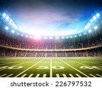 light of american stadium | Shutterstock . vector #226797532