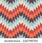 seamless vector geometric... | Shutterstock .eps vector #226798705