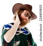 model in studio isolated on... | Shutterstock . vector #226809835