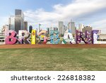 brisbane  australia   october... | Shutterstock . vector #226818382