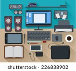 modern concept creative... | Shutterstock .eps vector #226838902