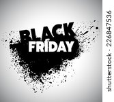 black friday. vector... | Shutterstock .eps vector #226847536