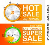 banners sale for your design.... | Shutterstock .eps vector #226853536