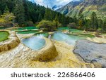 Superb Pools In Huanglong...