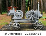 old engine in the grutas park... | Shutterstock . vector #226866496