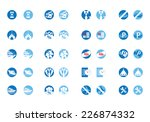 travel icon set for travel... | Shutterstock .eps vector #226874332