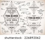 set of banners and design... | Shutterstock .eps vector #226892062