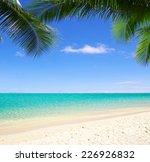 tropical sea | Shutterstock . vector #226926832