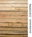 isolate wood plank brown... | Shutterstock . vector #226928986
