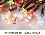 Christmas Lights And December...