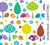 bright seamless pattern with a...   Shutterstock .eps vector #226972582
