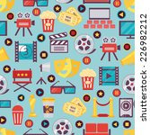 seamless various film and... | Shutterstock .eps vector #226982212