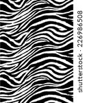 zebra stripes pattern.textile... | Shutterstock . vector #226986508