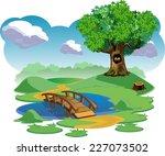 nature landscape | Shutterstock .eps vector #227073502