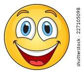 smiley face | Shutterstock .eps vector #227105098