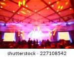 abstract blurry light in... | Shutterstock . vector #227108542