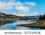 The Rogue River Bridge At Gold...