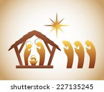 manger graphic design   vector... | Shutterstock .eps vector #227135245