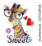 t shirt graphics   illustration ... | Shutterstock . vector #227218918
