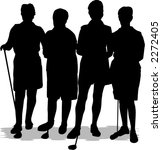 golfer | Shutterstock .eps vector #2272405