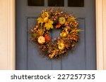 Autumn Wreath Decorating Front...