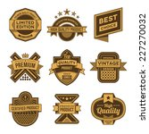 high quality assorted designs... | Shutterstock .eps vector #227270032