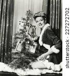 tree trimming | Shutterstock . vector #227272702