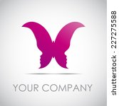 Vector Sign Butterfly With Of...