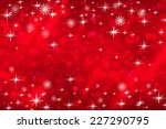 abstract christmas background... | Shutterstock .eps vector #227290795