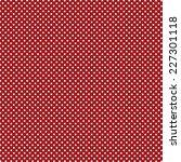 Red Polka Dot Background