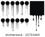 excellent high quality drips vector illustration for your design
